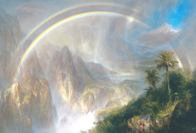 Frederic Edwin Church, « Rainy Season in the Tropics »